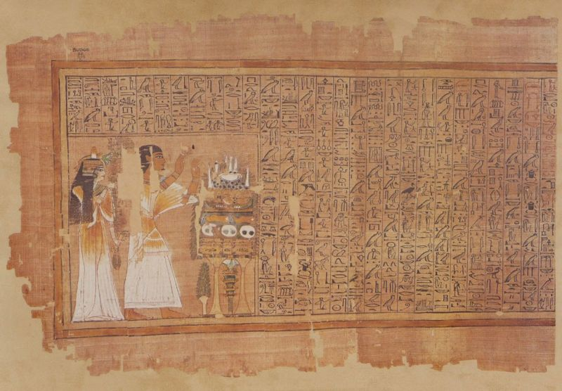 TRADUCTION DE LA PLANCHE I DU PAPYRUS D'ANI :