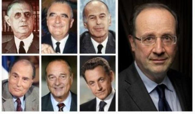 présidents francais