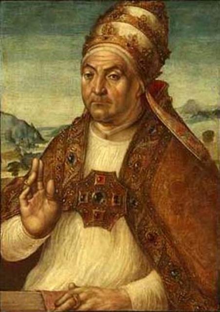 Le pape Sixte IV (François della Rovere), par Berruguete