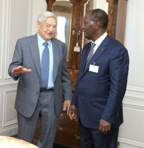 Ouattara-échange-avec-Georges-Soros-à-New-York-3 - Copie