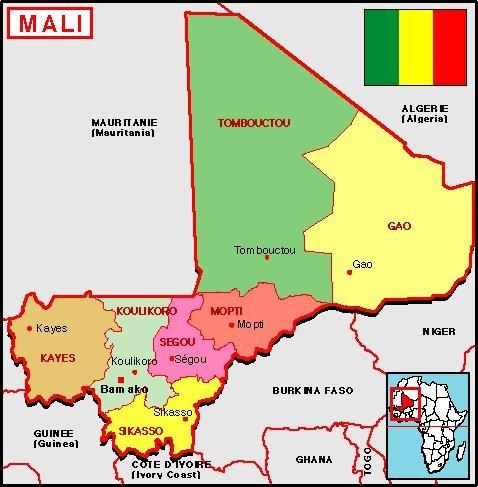 carte-geographique-malienne-drapeau